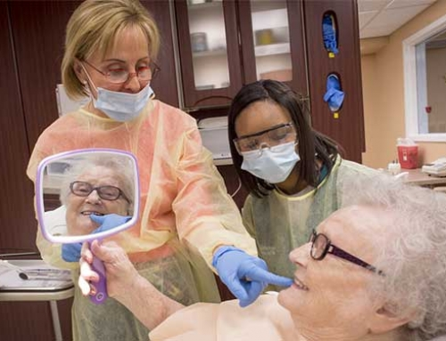 Difference Makers: Dental Students Give Nursing Home Residents a Reason to Smile