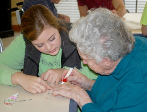 Love of Art Brings Two Sets of Seniors Together