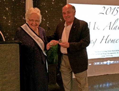 Ms. Alabama Nursing Home Honored, Presented Key to City of Demopolis
