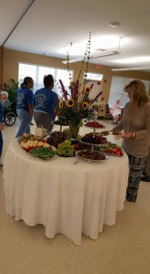 People from Andalusia and the surrounding area enjoy Andalusia Manor's 25th anniversary celebration.