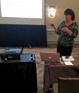 Katrina Magdon speaks at an ANHA educational seminar in March 2016.