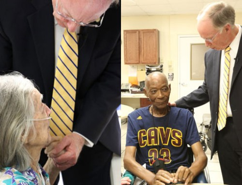 VIDEO: Gov. Bentley Visits Nursing Home, Discusses Medicaid Funding