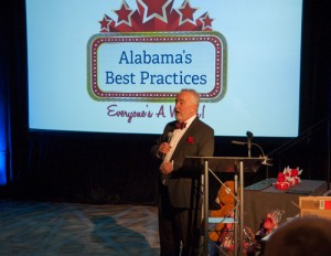 Long-time Alabama's Best Practices host Bob Coker kicks off the day.