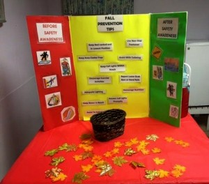 "An educational display at Oak Trace's ""Fall Festival."""