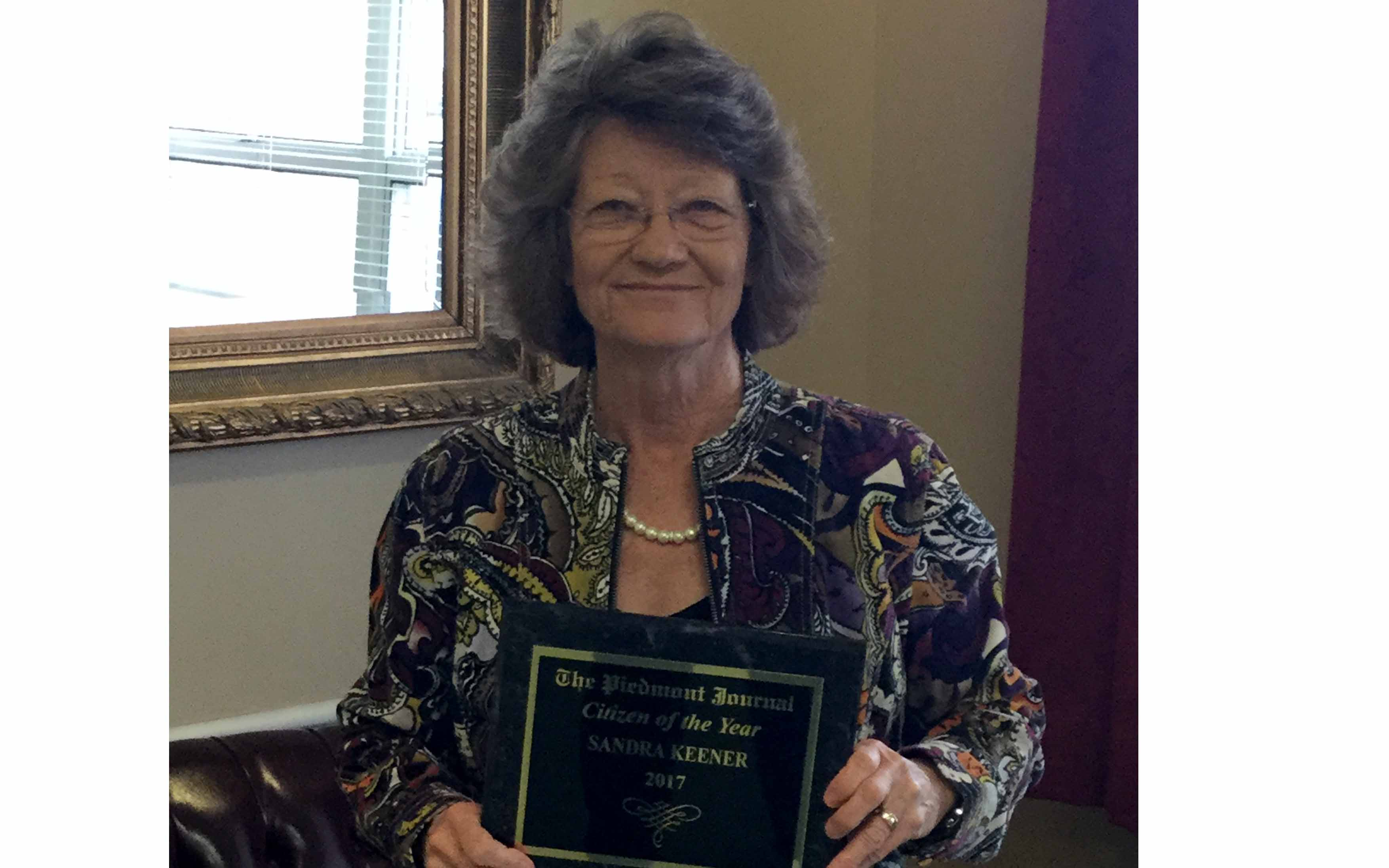 nursing home administrator named citizen of the year in piedmont
